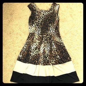 Cute Leopard print dress
